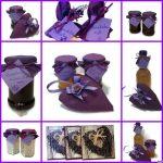 Ajándék levendulás kézműves termék