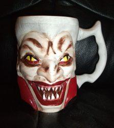 Drakula bögre