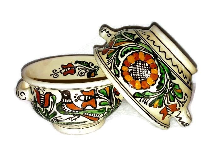 cb423ced82 Gulyásos vagy halászlés tányér - Korondi kerámiák és népművészet ...