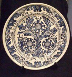 Fali tányér