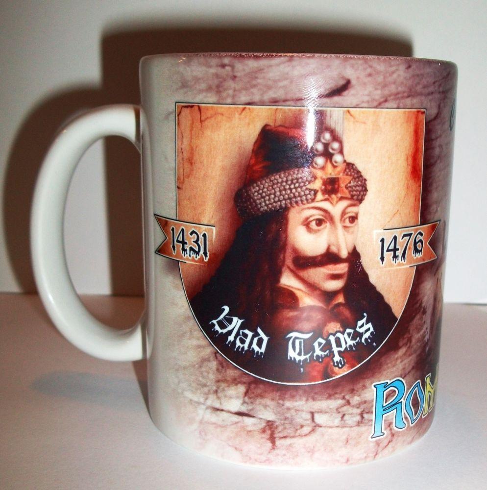fd70533802 Drakula bögre (Vlad Tepes) - Korondi kerámiák és népművészet webáruháza