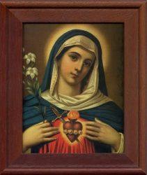 Mária és Jézus Szent Család